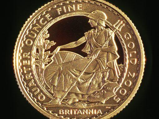 Britannia gold coin